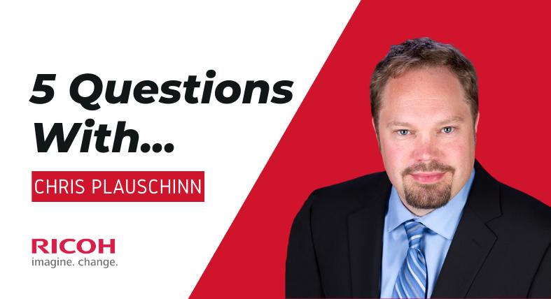 5 Questions With... Chris Plauschinn