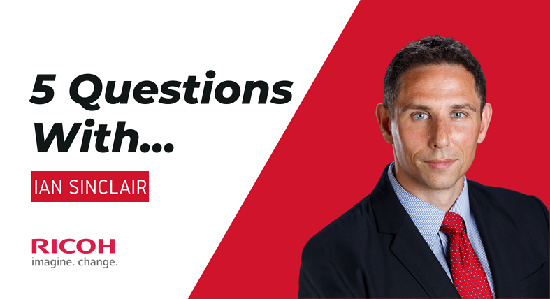 5 Questions With... Ian Sinclair