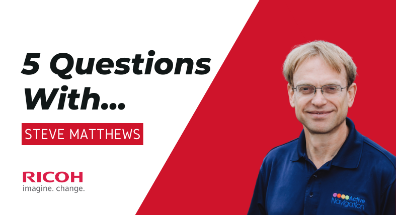 5 Questions with... Steve Matthews (2)