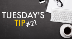 Tuesdays Tip 21