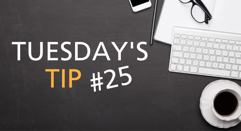 Tuesdays Tip Feature Image - 25