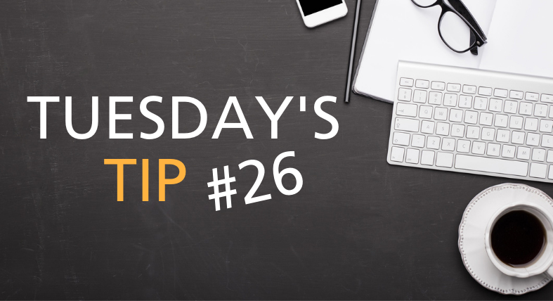Tuesdays Tip Feature Image - 26