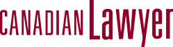 Canadian Lawyer Magazine logo in red