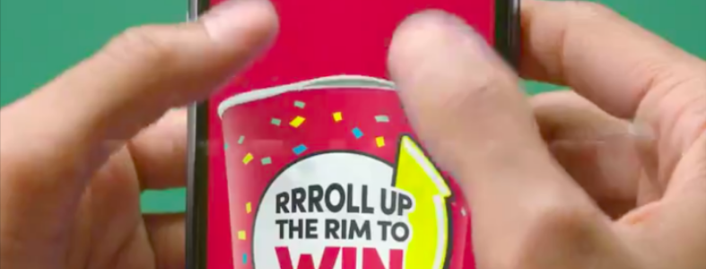 Tim Horton's Roll Up the Rim to Win on mobile