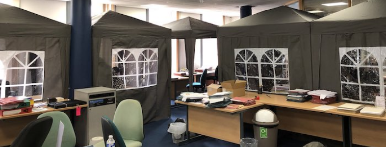 Law office glamping
