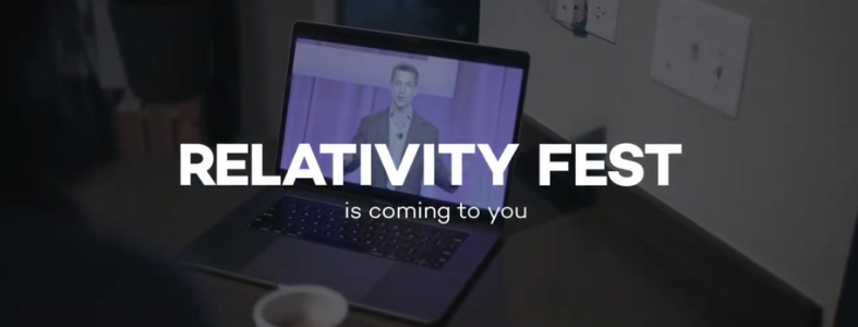 Relativity Fest goes virtual