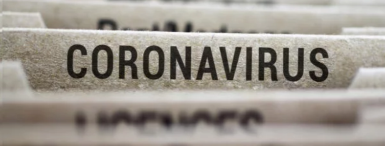 Coronavirus file folder