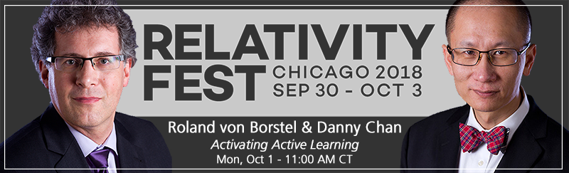 Activating Active Learning - Relativity Fest 2018