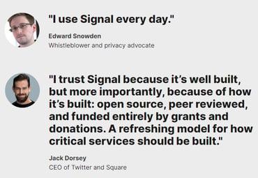 Signal snapshot