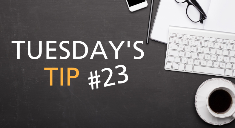 Tuesdays Tip Feature Image - 23
